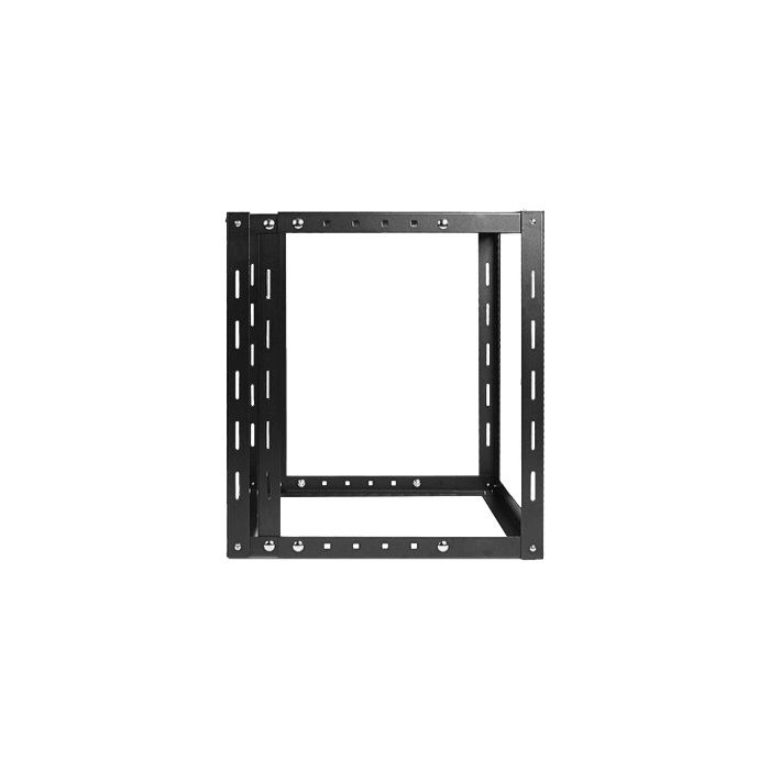 WOM1280-CM1U, 12U, 800mm, Adjustable Wallmount Server Cabinet with 1U Cable Management