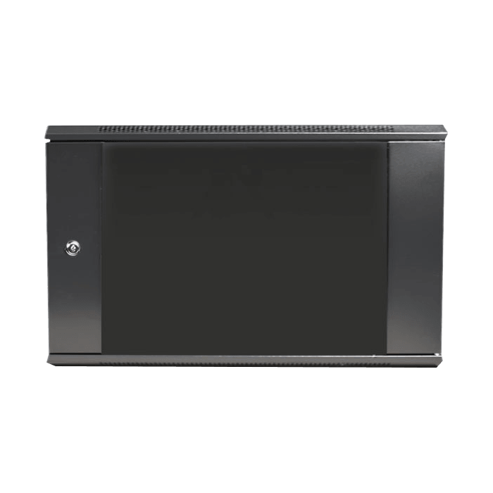 WM660-KBR1U, 6U, 600mm Depth, Wallmount Server Cabinet with 1U Keyboard Drawer