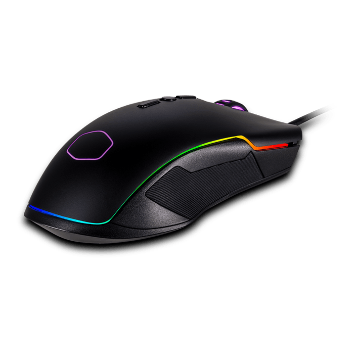 CM310, RGB LED, 10000dpi, Wired USB, Black, Optical Gaming Mouse