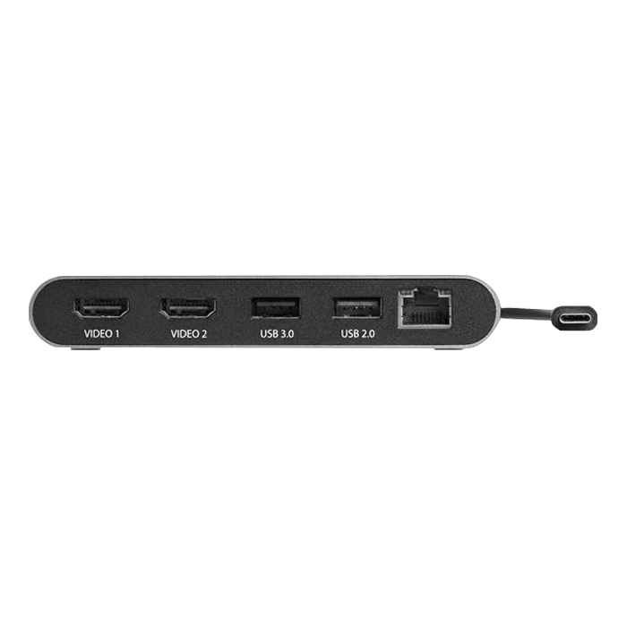 Dual 4K Monitor Mini Thunderbolt 3 Dock with HDMI