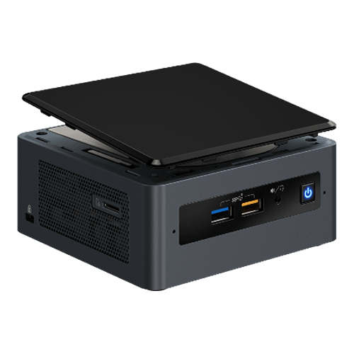 "NUC8i3BEH, Intel Core i3-8109U, 2x DDR4 SO-DIMM, M.2, 2.5"" HDD/SSD, Intel Iris Plus Graphics 655, Mini PC Barebone"