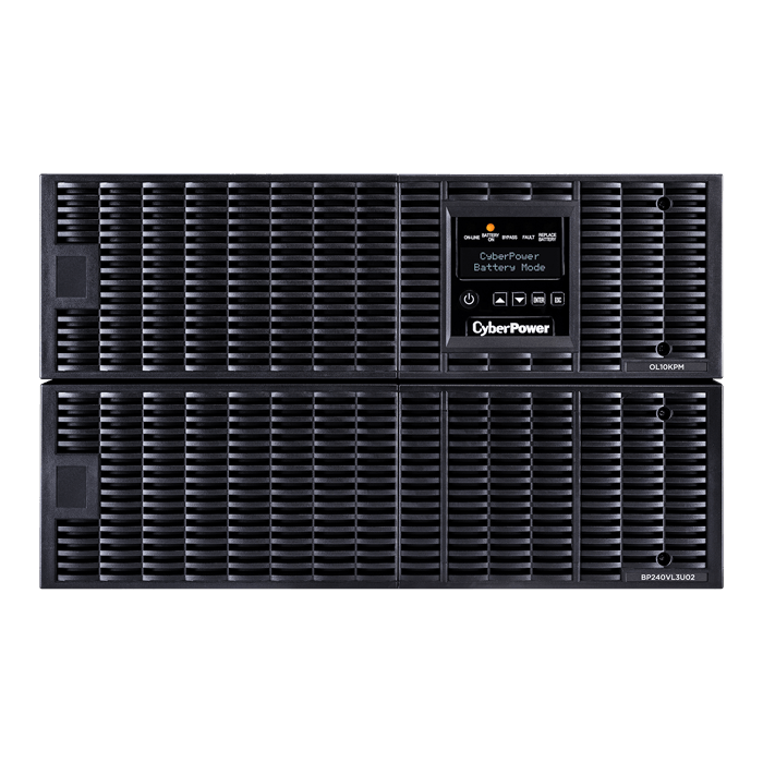 Smart App Online OL10KRT, 10000VA/10000W, 240V, 4 Outlets, Black, Tower/6U Rackmount UPS