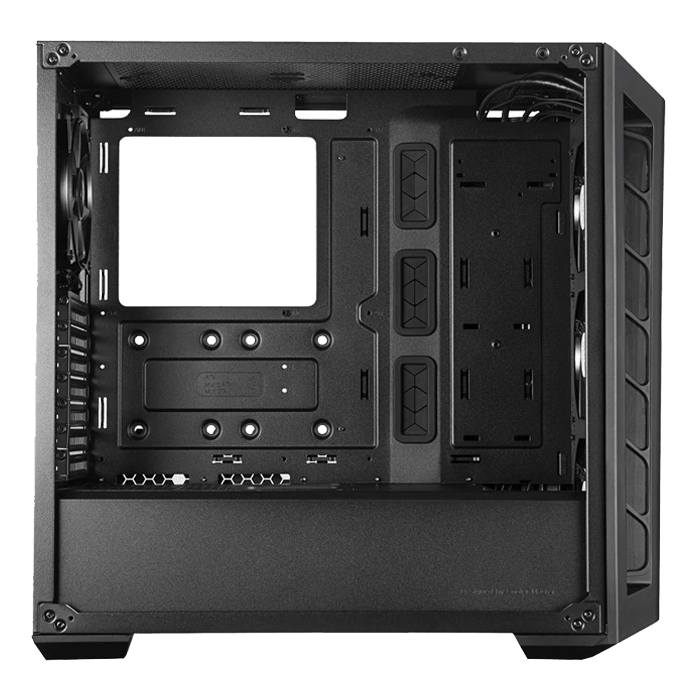 MasterBox MB530P Tempered Glass, No PSU, ATX, Black, Mid Tower Case