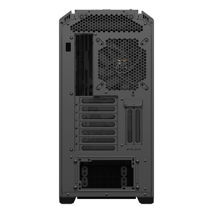 Silent Base 601 Tempered Glass, No PSU, E-ATX, Black, Mid Tower Case