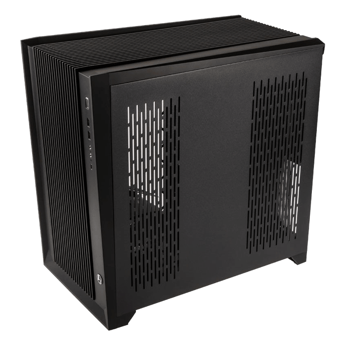 O11 AIR Tempered Glass, No PSU, E-ATX, Black, Mid Tower Case