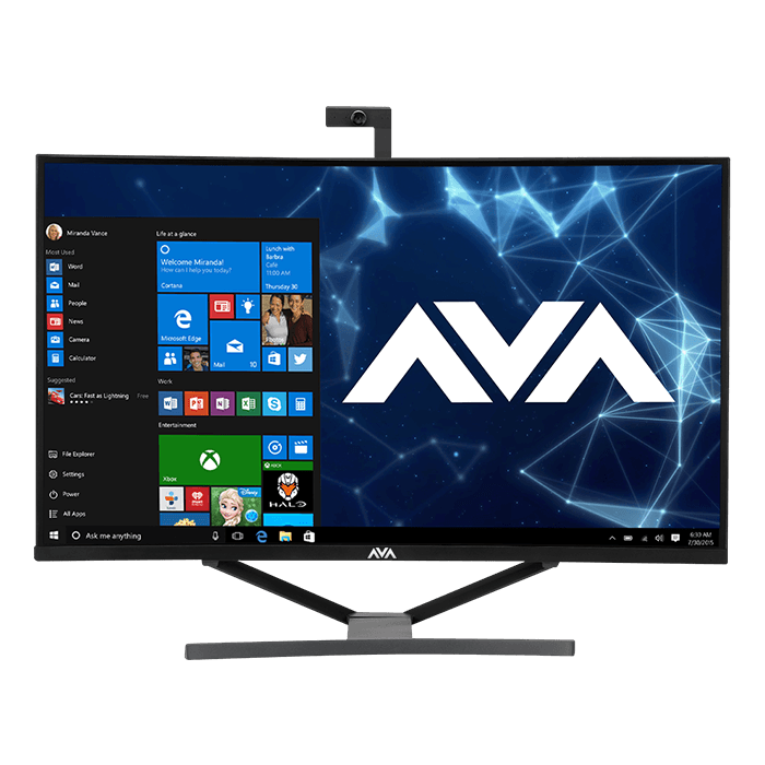 "Curved 32"" Z370 Gaming All-in-One PC"