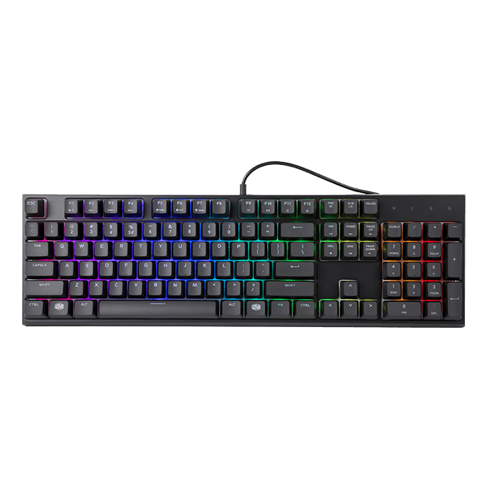 a20ac77032d Cooler Master MasterSet MS121 Mem-chanical switches Gaming Keyboard ...