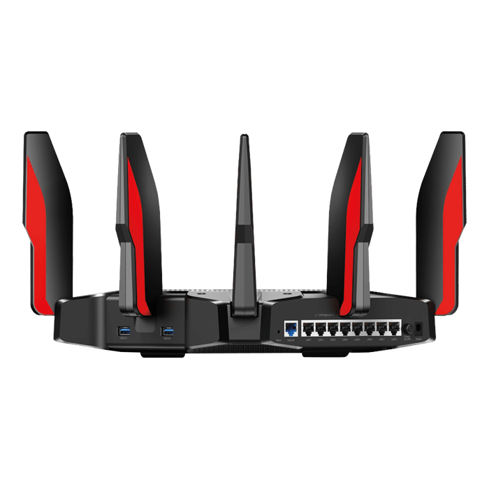 Archer C5400X, IEEE 802.11a/b/g/n/ac, 802.3ab, Tri-Band 2.4 / 5GHz, 1000 / 2167 Mbps, 8xRJ45, 2x USB 3.0, Wireless Router