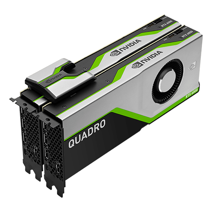 Quadro RTX™ 6000 VCQRTX6000-PB, 24GB GDDR6, Graphics Card
