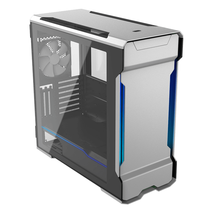 Enthoo Series Evolv X Tempered Glass, No PSU, E-ATX, Galaxy Silver, Mid Tower Case