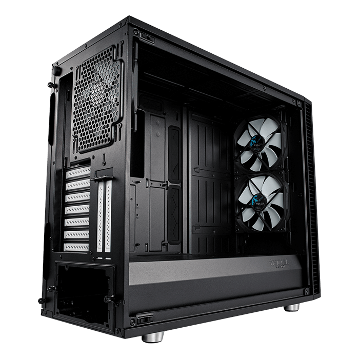 Define S2 Black – TG Tempered Glass, No PSU, E-ATX, Mid Tower Case