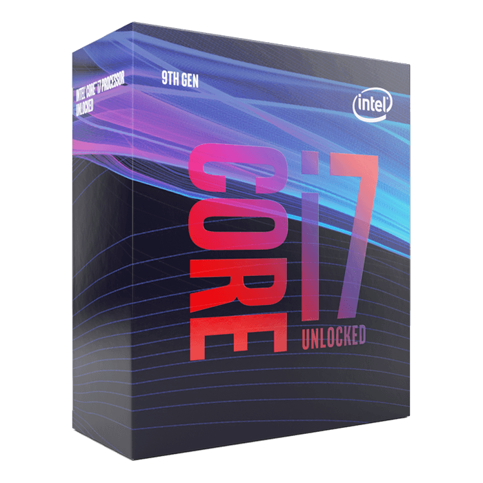 Core™ i7-9700K 8-Core 3.6 - 4.9GHz Turbo, LGA 1151, 95W TDP, Processor