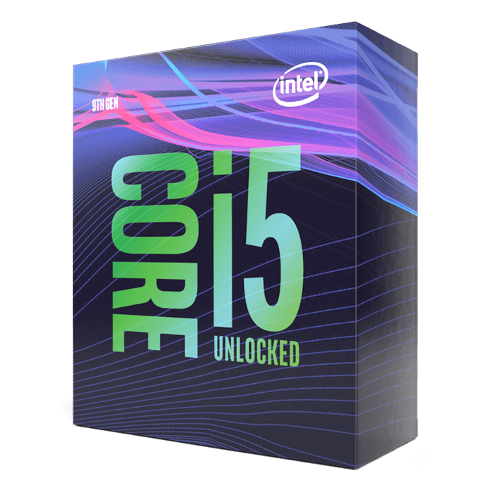 Core™ i5-9600K 6-Core 3.7 - 4.6GHz Turbo, LGA 1151, 95W TDP, Processor