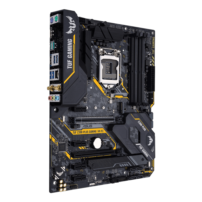 TUF Z390-Plus Gaming (Wi-Fi), Intel Z390 Chipset, LGA 1151, HDMI, ATX Motherboard