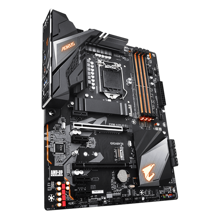 Z390 AORUS ELITE, Intel Z390 Chipset, LGA 1151, HDMI, ATX Motherboard