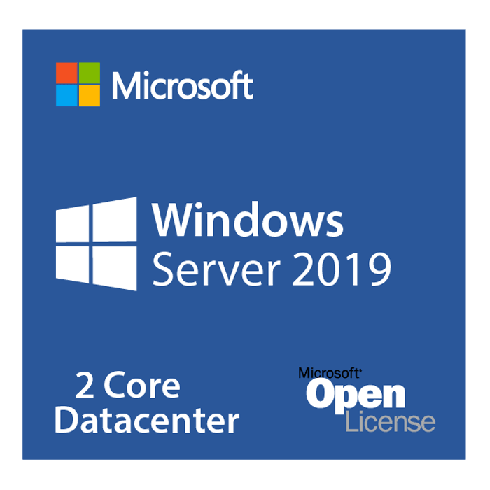 Windows Server 2019 Datacenter - Open License for Government, 2 Core