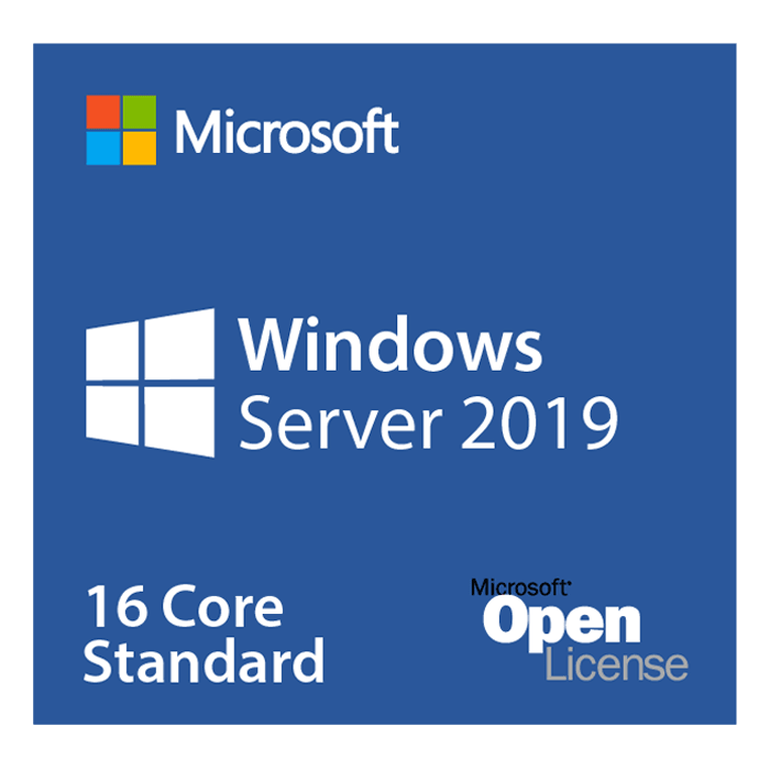 Windows Server 2019 Standard - Open License for Government, 16 Core