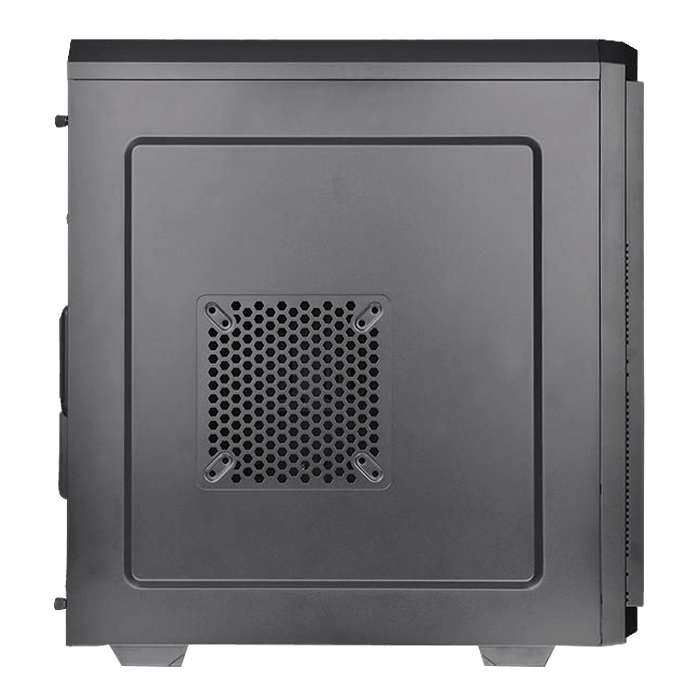 V100 Perforated, No PSU, ATX, Black, Mid Tower Case