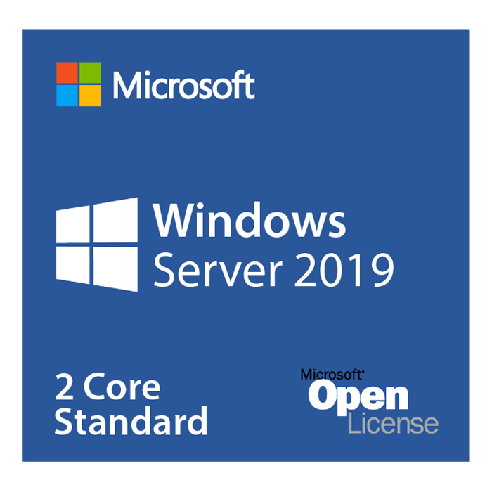 Windows Server 2019 Standard - License, 2 Additional Core (POS)