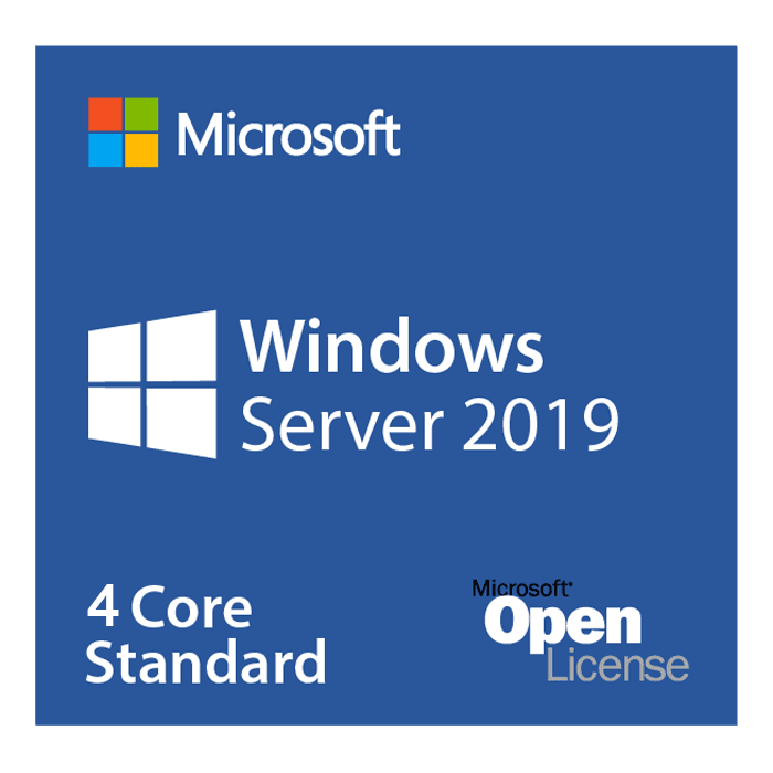 Windows Server 2019 Standard - License, 4 Additional Core (APOS)