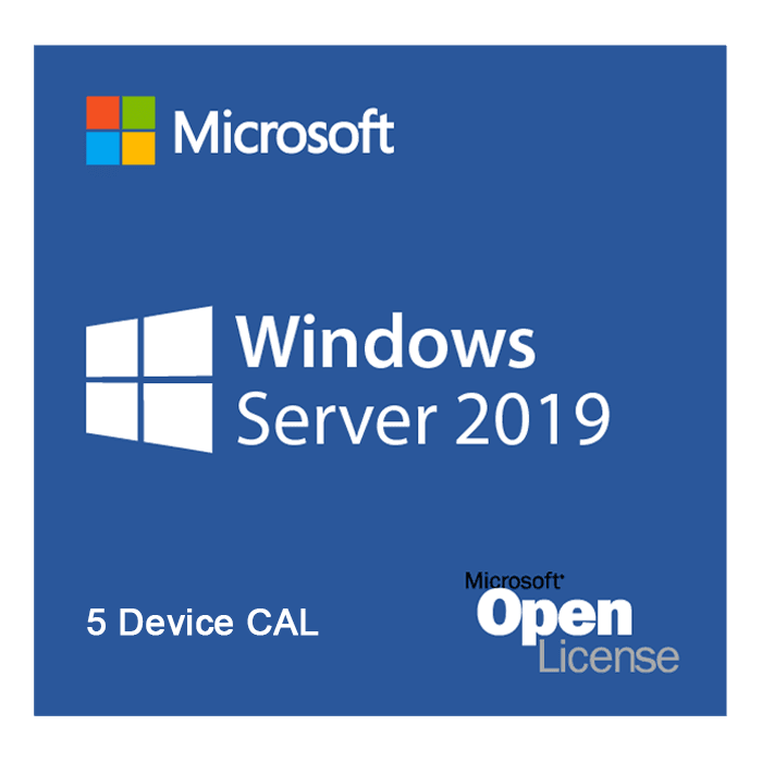 Windows Server 2019 - License, 5 Device CAL