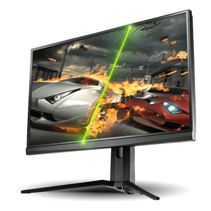 "Oculux NXG251R 24.5"", Full HD 1920 x 1080 TN LED, 1ms, 240Hz, G-SYNC, Black, LCD Monitor"