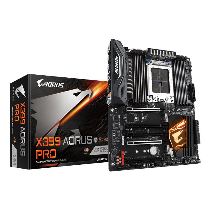 X399 AORUS PRO, AMD X399 Chipset, TR4, ATX Motherboard