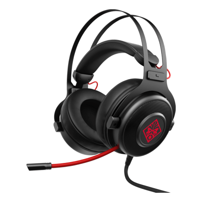 OMEN 800, Surround Sound, 3.5mm, Black/Red, Gaming Headset