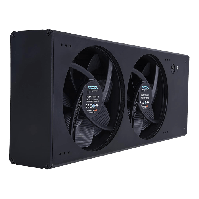 Eisbaer Extreme liquid CPU cooler core 280 - black edition