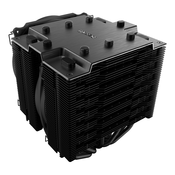 Dark Rock Pro TR4, 163mm Height, 250W TDP, Copper/Aluminum CPU Cooler