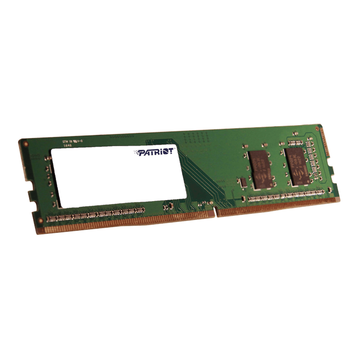 4GB Single-Rank Signature Line DDR4, 2400MHz, CL17, DIMM Memory