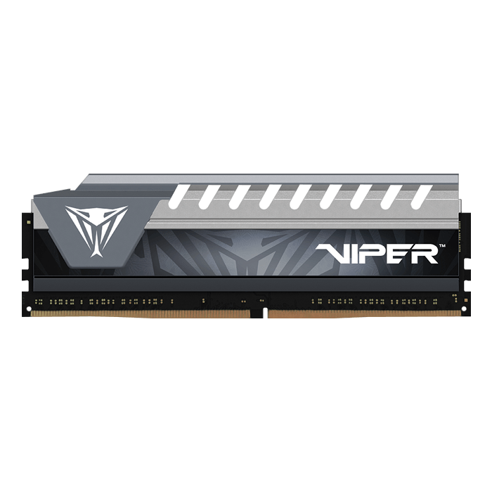 4GB Viper Elite DDR4 2400MHz, CL16, Black-Grey, DIMM Memory