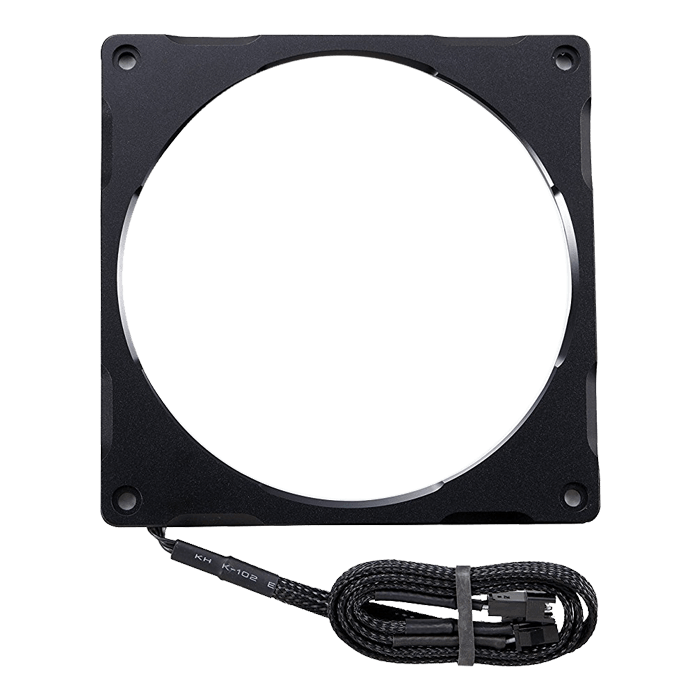 PH-FF140DRGBA_BK01 140mm Halos Lux Digital RGB Fan Frames