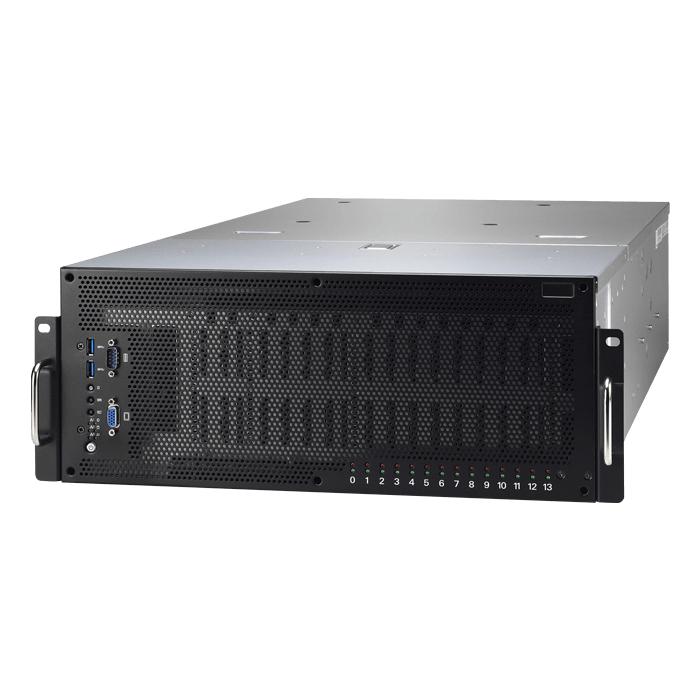 Thunder HX FT77DB7109 (B7109F77DV10E4HR-2T-NF), 4U, Intel C621, 10x SATA, 4x NVMe, 24x DDR4, Dual 10Gb Ethernet, 3200W Rdt (2+1) PSU