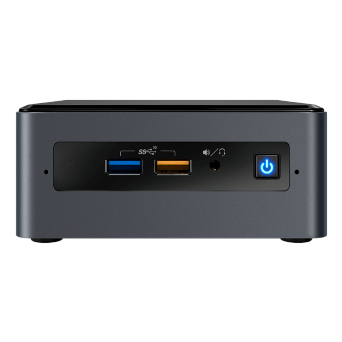 "NUC 8 Home NUC8i5BEHFA, Intel® Core™ i5-8259U, 2x DDR4 SO-DIMM (4GB pre-installed), M.2 (16GB Intel® Optane™ Memory pre-installed), 2.5"" HDD/SSD (1TB HDD pre-installed), Intel® Iris® Plus Graphics 655, Windows 10 Home, Mini PC"