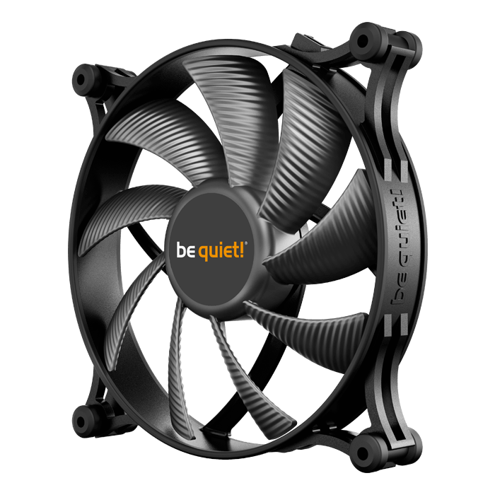 Shadow Wings 2 140mm, 900 RPM, 85 CFM, 14.7 dBA, Cooling Fan