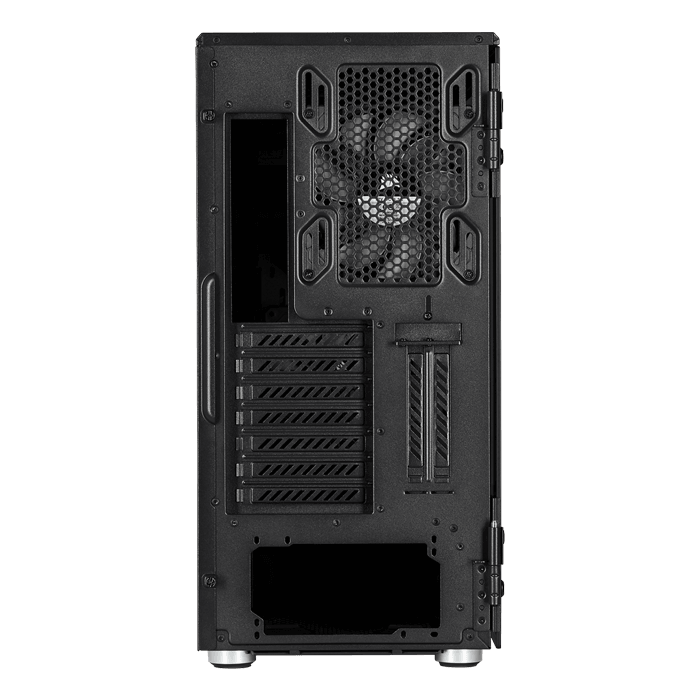 Carbide Series 678C Low Noise Tempered Glass, No PSU, E-ATX, Black, Mid Tower Case