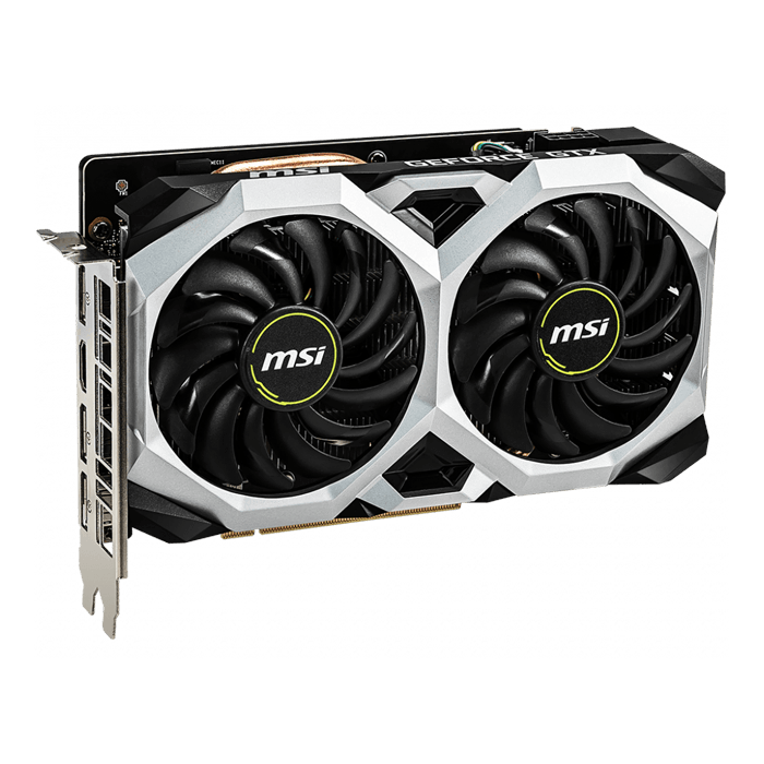 GeForce® GTX 1660 VENTUS XS 6G OC, 1530 - 1830MHz, 6GB GDDR5, Graphics Card