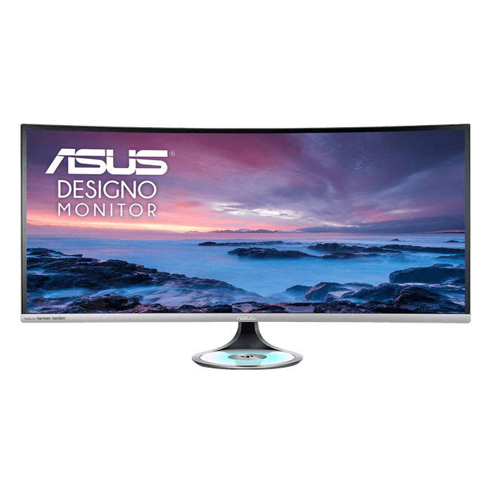 "Designo Curve MX38VC 37.5"", UWQHD 3840 x 1600 IPS LED, 5ms, Space Gray/Black, Curved LCD Monitor"