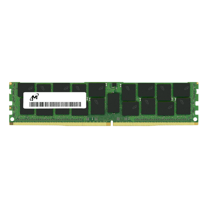 32GB MTA36ASF4G72PZ-2G6E1RK Dual-Rank, DDR4 2666MHz, CL19, ECC Registered Memory