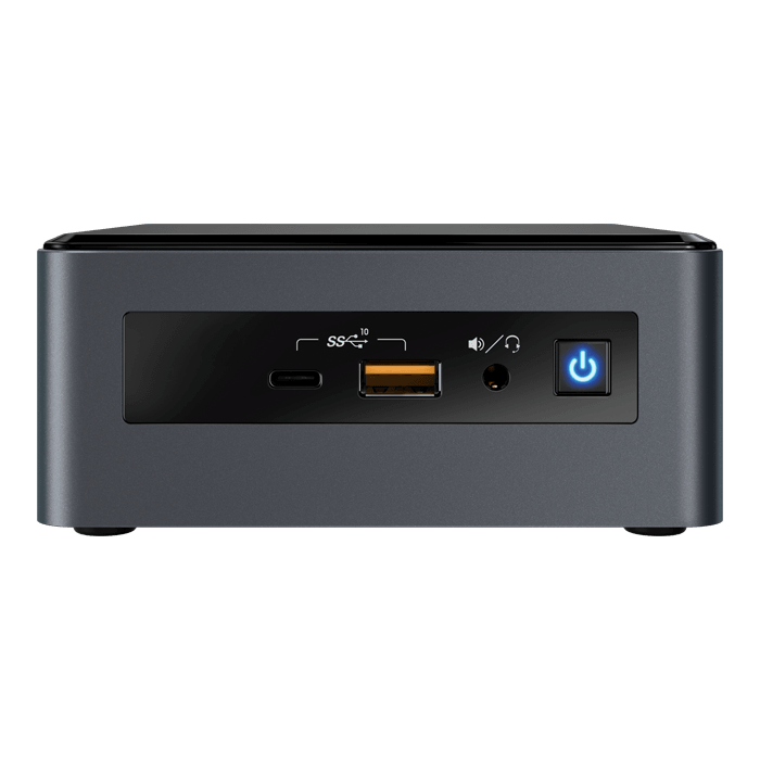 "NUC 8 Mainstream-G NUC8i7INHX, Intel® Core™ i7-8565U, 8GB LPDDR3-1866 (Soldered), M.2, 2.5"" HDD/SSD, AMD Radeon™ 540X 2GB Graphics, Mini PC Barebone"