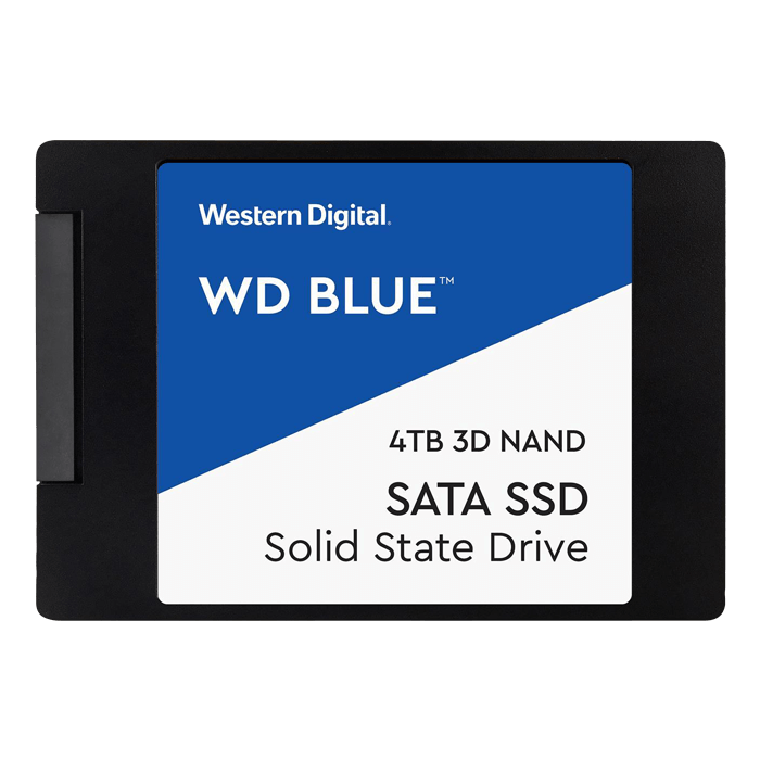 4TB Blue 7mm, 560 / 530 MB/s, 3D NAND, SATA 6Gb/s, 2.5-Inch SSD