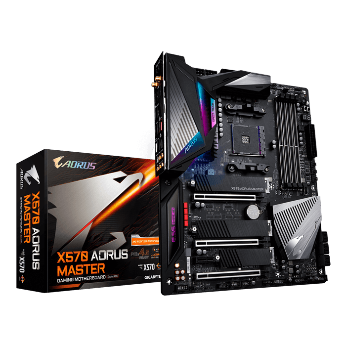 X570 AORUS MASTER, AMD X570 Chipset, AM4, ATX Motherboard