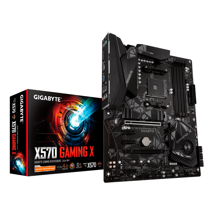 X570 GAMING X, AMD X570 Chipset, AM4, HDMI, ATX Motherboard