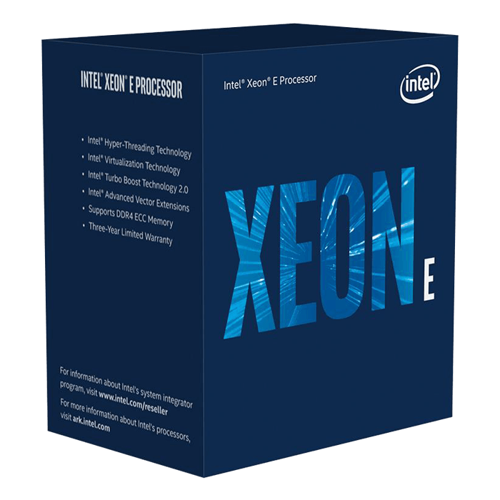 Xeon® E-2236 6-Core 3.4 - 4.8GHz Turbo, LGA 1151, 80W, Processor