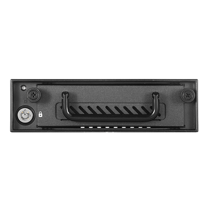 "T-G525-HD Industrial 5.25"" to 3.5"" 2.5"" 12Gb/s HDD SSD Hotswap Rack"