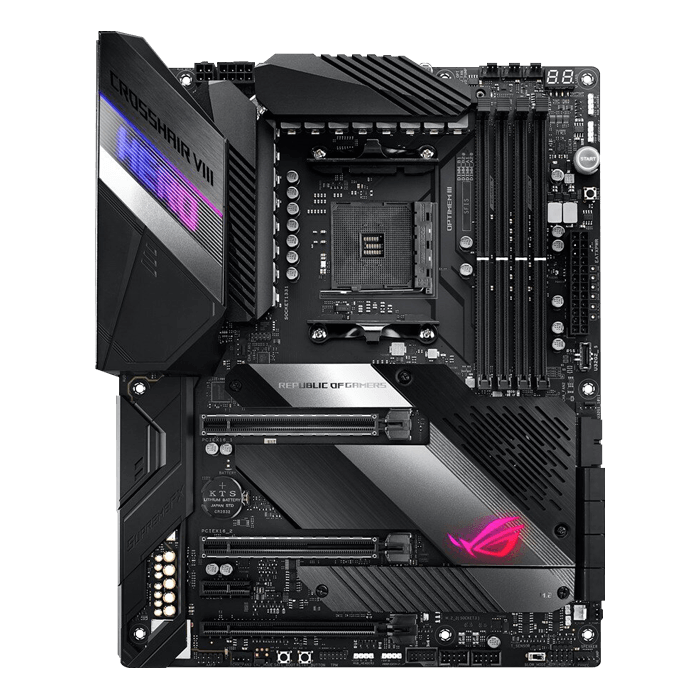 ROG Crosshair VIII Hero, AMD X570 Chipset, AM4, ATX Motherboard