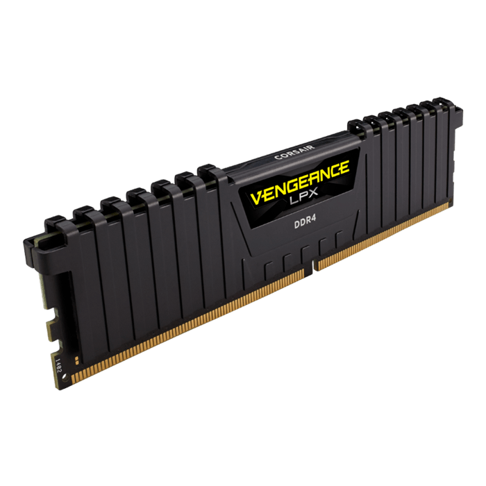 32GB Vengeance LPX DDR4 3000MHz, CL16, Black, DIMM Memory