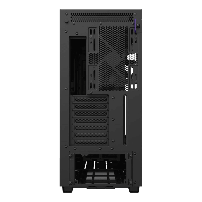 H Series H710 Tempered Glass, No PSU, E-ATX, Matte Black, Mid Tower Case