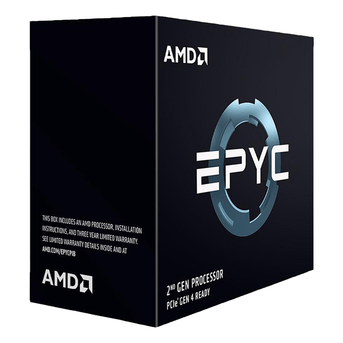 EPYC™ 7402 24-Core 2.8 - 3.35GHz Turbo, SP3, 180W, Processor